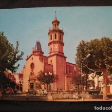 Postales: POSTAL ARENYS DE MAR - SERIE II - Nº 504 - PLAZA DE LA IGLESIA.. Lote 92939025