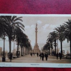 Postales: TARJETA POSTAL DE BARCELONA PASEO DE COLON CIRCULADA. Lote 93000795