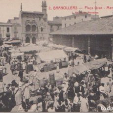 Postales: GRANOLLERS (BARCELONA) - PLAÇA MERCAT. Lote 93951665