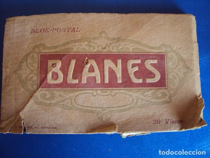 (PS-52620)BLOK DE POSTALES DE BLANES - FOTO L.ROISIN (Postales - España - Cataluña Moderna (desde 1940))
