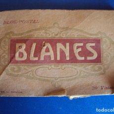 Postales: (PS-52620)BLOK DE POSTALES DE BLANES - FOTO L.ROISIN. Lote 93998625