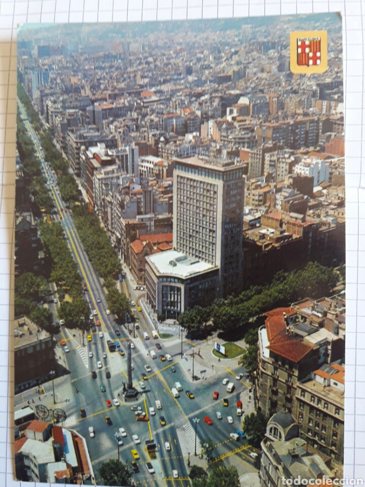 POSTAL BARCELONA 1975 (Postales - España - Cataluña Moderna (desde 1940))