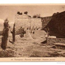 Postales: POSTAL TARRAGONA - PASSEIG ARQUEOLÒGIC / ASPECTE PARCIA - Nº 22 - ARXIU TAU - MUMBRÚ - ANYS 20 - TGN. Lote 94512894