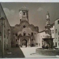 Postales: MONASTERIO DE SANTES CREUS TARRAGONA - 24 - PLAZA SAN BERNARDO. Lote 94537823