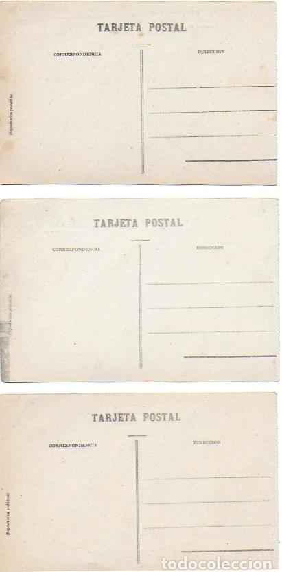 Postales: P- 7238. LOTE DE 3 POSTALES LERIDA. L. ROISIN. - Foto 5 - 94849663