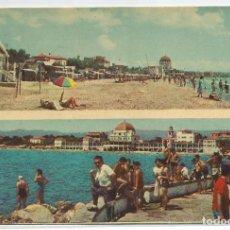 Postales: SALOU .- DOS VISTAS .- HOTEL BALNEARIO LA TERRAZA .- FOTO SEGU CHINCHILLA Nº 8 . Lote 94868719