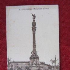 Postales: POSTAL BARCELONA, MONUMENTO A COLÓN. . Lote 94962515