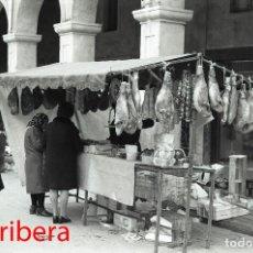 Postales: NEGATIVO ESPAÑA BARCELONA VILAFRANCA DEL PENEDÈS MERCADO 1973 ILFORD 35MM PHOTO FOTO MERCAT MARKET. Lote 95123879