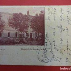 Postales: VENDRELL. HOSPITAL SAN SALVADOR. Lote 95288367