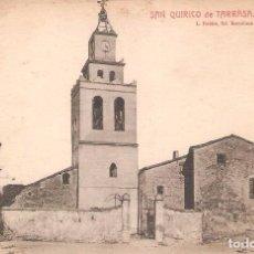 Postales: SAN QUIRICO DE TERRASA, PARROQUIA, L.ROISIN, SIN CIRCULAR. Lote 95307395