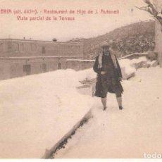Postales: LA CONRRERIA, RESTAURANT HIJO J.AULADELL, LA TERRAZA, L.ROISIN, SIN CIRCULAR. Lote 95307463