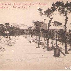 Postales: LA CONRRERIA, RESTAURANT HIJO J.AULADELL, CAMINO DEL TURÓ DE L'HOME, L.ROISIN, SIN CIRCULAR. Lote 95307503
