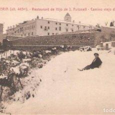 Postales: LA CONRRERIA, RESTAURANT HIJO J.AULADELL, CAMINO VIEJO DE TIANA, L.ROISIN, SIN CIRCULAR. Lote 95307623