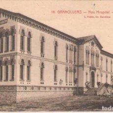 Postales: GRANOLLERS, NOU HOSPITAL, UN PABELLÓ, L.ROISIN, SIN CIRCULAR. Lote 95308019