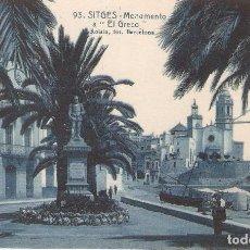 Postales: SITGES, EL GRECO, L.ROISIN, SIN CIRCULAR. Lote 95308039
