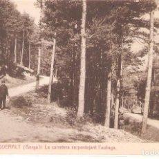 Postales: BERGA, ST. DE QUERALT, L'AUBAGA, THOMAS, SIN CIRCULAR. Lote 95308071