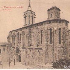 Postales: GRANOLLERS, ESGLESIA PARROQUIAL, L.ROISIN, SIN CIRCULAR. Lote 95308139