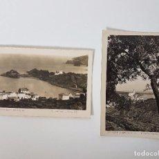 Postales: POSTALES VISTAS DE CADAQUÉS (AÑO 1951). Lote 95359167