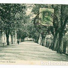 Postales: TARRAGONA REUS PASEO DE BRIANSÓ. ED. TRICÁZ Y FUMADÓ. FOTOTIPIA THOMAS. SIN CIRCULAR. Lote 95418271