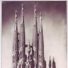 Postales: BARCELONA: TEMPLO SAGRADA FAMILIA. ZERKOWITZ. NO CIRCULADA (AÑOS 50). Lote 95473655