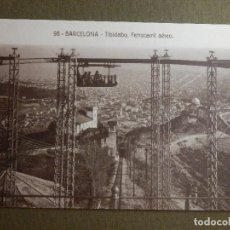 Postales: POSTAL - ESPAÑA - BARCELONA - 98 TIBIDABO - FERROCARRIL AEREO - POSTALES FERGUI - NE-NC. Lote 95781995