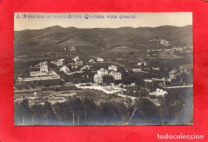 BARCELONA. HORTA. A 18 BARRIO QUINTANA. VISTA GENERAL (Postales - España - Cataluña Antigua (hasta 1939))