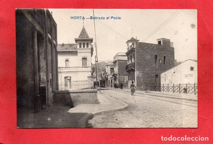 BARCELONA. HORTA. ENTRADA AL POBLE (Postales - España - Cataluña Antigua (hasta 1939))