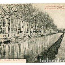 Postales: TARRAGONA TORTOSA, ROQUETAS CANAL DEL EBRO PUBLICIDAD FARMANCIA HIPOFOSFITOS SALUD. FOT. R BORRELL, . Lote 95932931