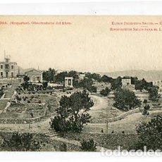 Postales: TARRAGONA TORTOSA ROQUETAS OBSERVATORIO DL EBRO PUBLICIDAD FARMANCIA HIPOFOSFITOS SALUD. R BORRELL, . Lote 95933051