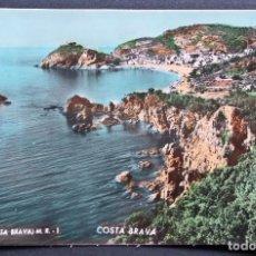 Postales: TOSSA (COSTA BRAVA) POSTAL COLOREADA DEL AÑO 1955. Lote 95957095