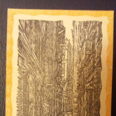 Postales: POSTAL BARCELONA CALLE PETRITXOL-MEDIODIA, Nº 3.XILOGRAFIA R.VIVES SABATE. Lote 95960635