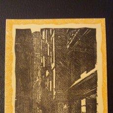 Postales: POSTAL BARCELONA CALLE PETRITXOL-CONTRALUZ, Nº 4.XILOGRAFIA R.VIVES SABAT4. Lote 95960739