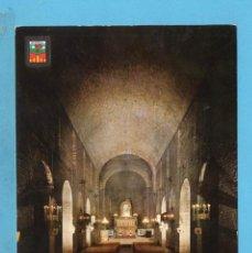 Postales: POSTAL DE RIPOLL BASÍLICA Nº2087 EDITÓ ESCUDO DE ORO ESCRITA EL AÑO 1968. Lote 95965167