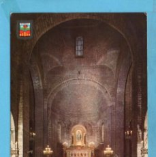 Postales: POSTAL DE RIPOLL BASÍLICA Nº2086 EDITÓ ESCUDO DE ORO ESCRITA EL AÑO 1968. Lote 95965315