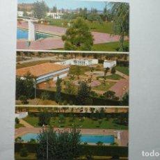 Postales: POSTAL L´ESPLUGA DE FRANCOLI -PISCINAS Y PISTA DE BAILE -ESCRITA. Lote 95975963