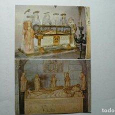 Postales: POSTAL TARRAGONA CATEDRAL SANTO SEPULCRO - Y SEPULCRO ARZOBISPO JUAN DE ARAGON . Lote 95976103