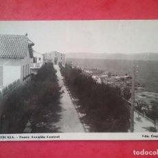 Postales: LA ESCALA POSTAL FOTOGRÁFICA PASEO AVENIDA CENTRAL FOTOGRAFÍA VDA. ESQUIROL AÑOS '50. Lote 96010483