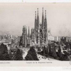 Postales: BARCELONA. TEMPLO DE LA SAGRADA FAMILIA.. Lote 96162347