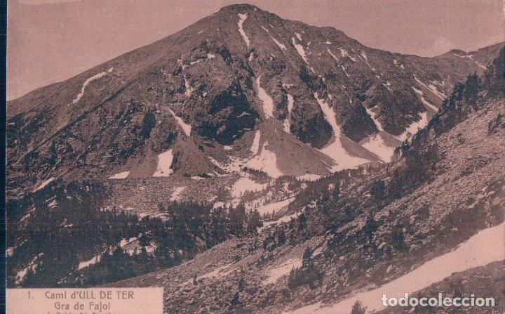 POSTAL ULL DE TER - GRA DE FAJOL- 1 ROISIN (Postales - España - Cataluña Antigua (hasta 1939))