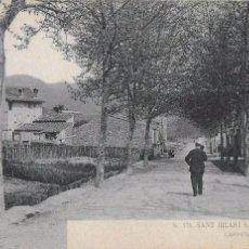 Postales: P- 7272. SANT HILARI SACALM, CARRETERA DE LA FONT PICANT.. Lote 96834063
