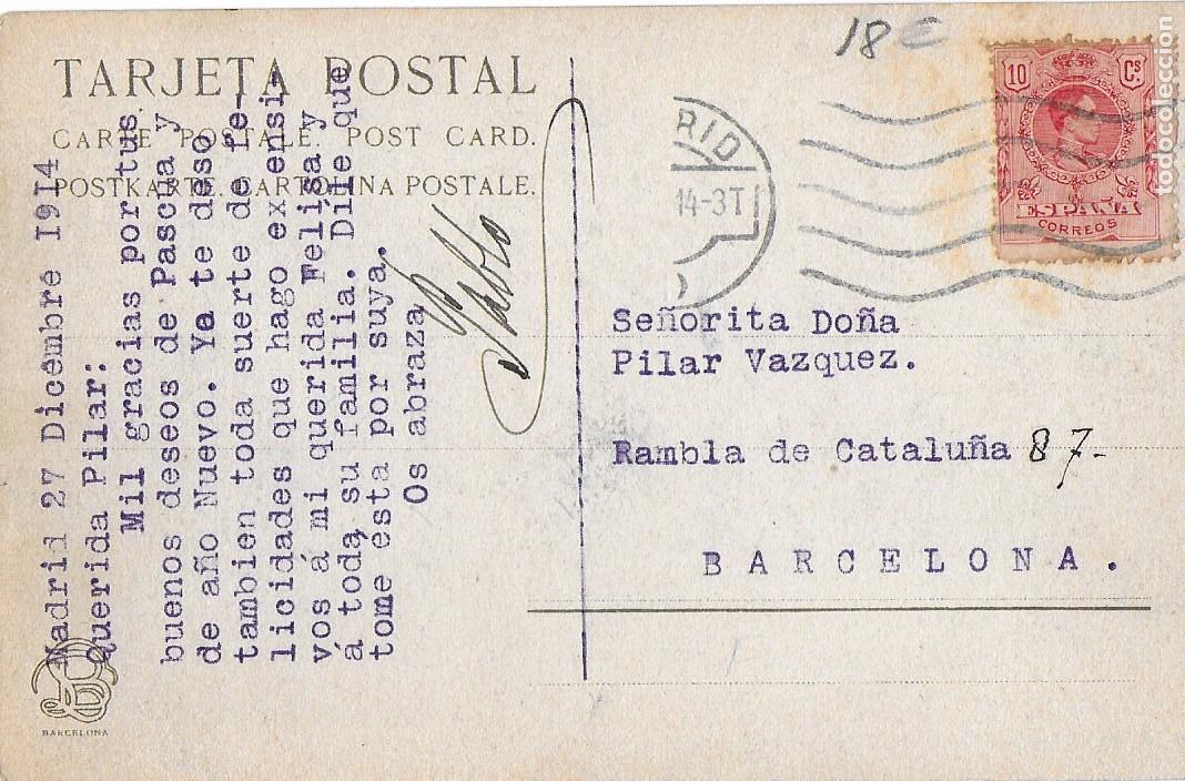 Postales: P- 7272. SANT HILARI SACALM, CARRETERA DE LA FONT PICANT. - Foto 2 - 96834063
