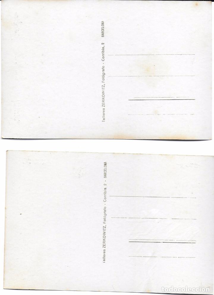 Postales: P- 7275. PAREJA POSTALES S AGARO, 40 Y 34. ZERKOWITZ. - Foto 4 - 96834399