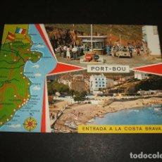 Postales: PORT BOU GERONA GIRONA VARIAS VISTAS. Lote 96914871
