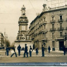 Postales: BARCELONA-FOTOGRÁFICA- MONUMENTO A GUELL- B Y P Nº 19. Lote 96934263