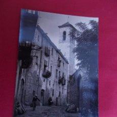 Postales: TARJETA POSTAL. MONTBLANCH. Nº 23. CALLE FUSTERIA Y CAMPANARIO DE SAN MIGUEL. REQUESENS. Lote 97008487