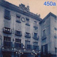 Postales: GERONA. CASAS CONSISTORIALES Y TEATRO. L. ROISIN FOT. Lote 97140267