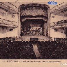 Postales: PUIGCERDA - PUICERDA. INTERIORE DEL THEATRO, DEL CASINO CERETANO . Lote 97142699