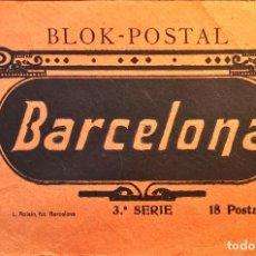 Postales: BLOCK DE POSTALES DE BARCELONA CAPITAL CON 16 POSTALES.. Lote 97156139
