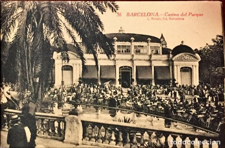 Postales: BLOCK DE POSTALES DE BARCELONA CAPITAL CON 16 POSTALES. - Foto 2 - 97156139