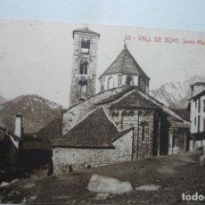 Postales: POSTAL VALL DE BOHI - SANTA MARIA DE TAHULL -CM. Lote 97292167